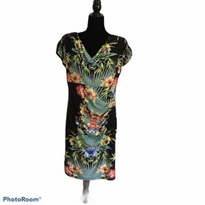Monroe and Maine dress floral print Size M